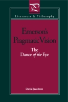 Cover for the book Emerson's Pragmatic Vision