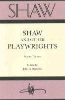 Cover image for SHAW: The Annual of Bernard Shaw Studies, Vol. 13 : Shaw and Other Playwrights Edited by John A. Bertolini