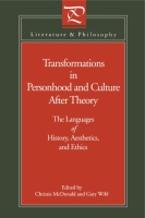 Cover for Transformations in Personhood and Culture after Theory
