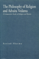 Cover for The Philosophy of Religion and Advaita Vedānta