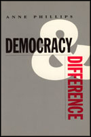 Cover for the book Democracy and Difference