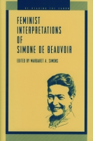 Cover for Feminist Interpretations of Simone de Beauvoi
