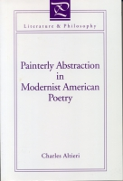Cover for the book Painterly Abstraction in Modernist American Poetry