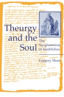 Cover for the book Theurgy and the Soul