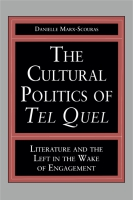Cover for The Cultural Politics of Tel Quel