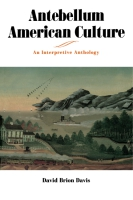 Cover for Antebellum American Culture