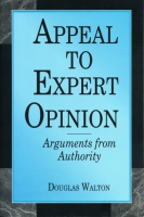 Cover image for Appeal to Expert Opinion: Arguments from Authority By Douglas  Walton