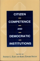 Cover for Citizen Competence and Democratic Institutions