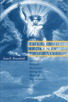 Cover image for the book The Island Broken in Two Halves By Jean E. Rosenfeld