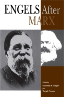 Cover image for Engels After Marx Edited by Manfred B. Steger and Terrell Carver