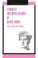 Cover image for Feminist Interpretations of David Hume Edited by Anne Jaap Jacobson