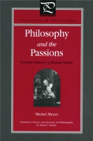 Cover for the book Philosophy and the Passions