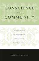 Cover for the book Conscience and Community
