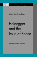 Cover for Heidegger and the Issue of Space