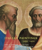 Cover image for the book Italian Paintings, 1250�1450, in the John G. Johnson Collection and the Philadelphia Museum of Art By Carl Strehlke