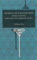 Cover for Journal of William Penn