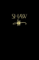 Cover image for SHAW: The Annual of Bernard Shaw Studies, vol. 32 Edited by Michel W. Pharand