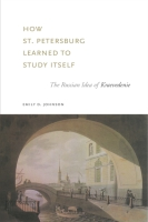 Cover for the book How St. Petersburg Learned to Study Itself