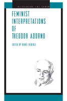Cover for the book Feminist Interpretations of Theodor Adorno