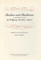 Cover for the book Bastien et Bastienne