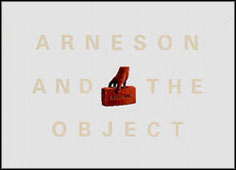 Cover image for Arneson and the Object By Leo G. Mazow