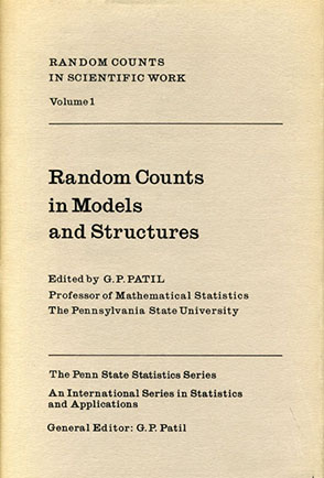 Cover image for Random Counts in Scientific Work Vol. 1: Random Counts in Models and Structures Edited by G. P. Patil