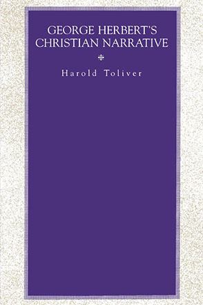 Cover image for George Herbert's Christian Narrative By Harold Toliver