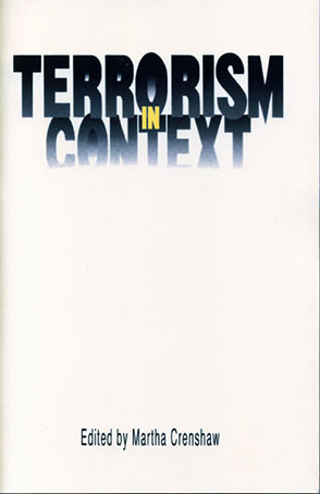 Cover image for Terrorism in Context Edited by Martha Crenshaw