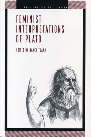 Cover image for Feminist Interpretations of Plato Edited by Nancy Tuana