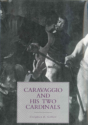 Cover image for Caravaggio and His Two Cardinals By Jean  G. Harrell