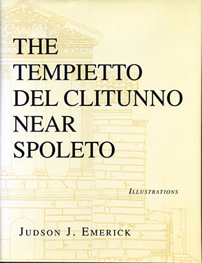 Cover image for The Tempietto del Clitunno near Spoleto By Judson Emerick