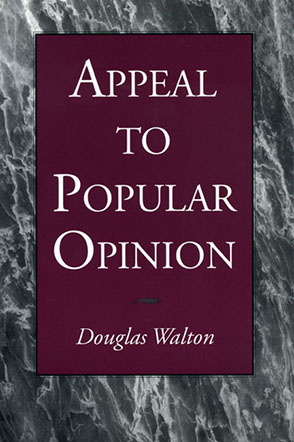 Cover image for Appeal to Popular Opinion By Douglas Walton