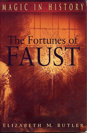 Cover image for The Fortunes of Faust By Elizabeth M. Butler