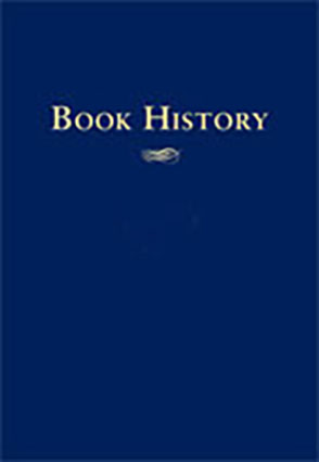 Cover image for Book History, vol. 2 Edited by Ezra Greenspan and Jonathan Rose