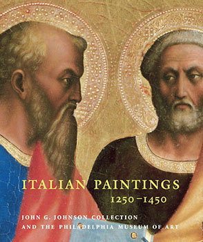Cover image for Italian Paintings, 1250–1450, in the John G. Johnson Collection and the Philadelphia Museum of Art By Carl Strehlke
