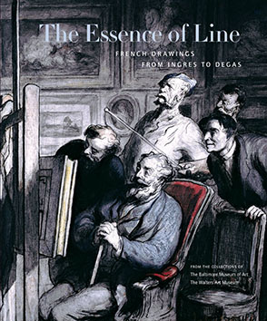Cover image for The Essence of Line: French Drawings from Ingres to Degas Edited by Jay Fisher, William Johnston, Cheryl Snay, and Kim Schenk