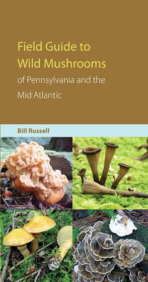 Cover image for Field Guide to Wild Mushrooms of Pennsylvania and the Mid-Atlantic By Bill Russell