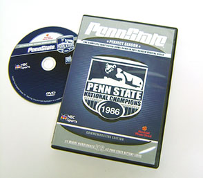 Cover image for 1987 Fiesta Bowl: Penn State vs. Miami, 90 Minute DVD Distributed for Team Marketing