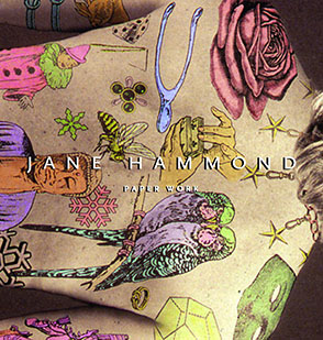 Cover image for Jane Hammond: Paper Work Edited by Marianne Doezema