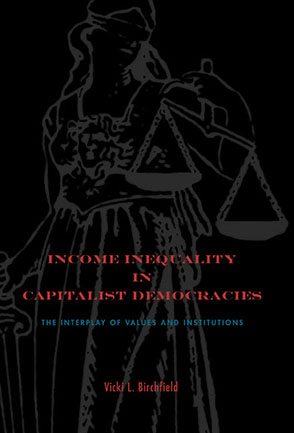 Cover for the book Income Inequality in Capitalist Democracies