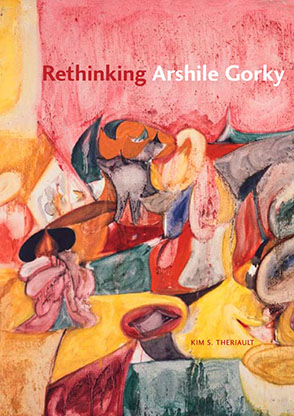 Cover image for Rethinking Arshile Gorky By Kim S. Theriault