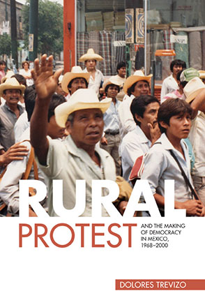 Cover image for Rural Protest and the Making of Democracy in Mexico, 1968–2000 By Dolores Trevizo