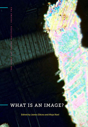 Cover image for What Is an Image? Edited by James Elkins and Maja Naef