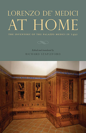 Cover for the book Lorenzo de' Medici at Home