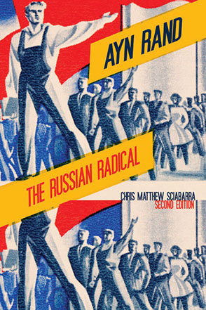 Cover image for Ayn Rand: The Russian Radical By Chris  Matthew Sciabarra