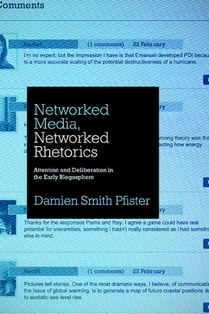 Cover for the book Networked Media, Networked Rhetorics