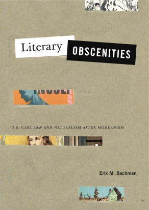 Cover image for Literary Obscenities: U.S. Case Law and Naturalism after Modernism By Erik M. Bachman