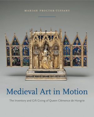 Cover for the book Medieval Art in Motion