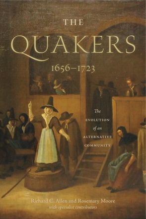 Cover for the book The Quakers, 1656–1723