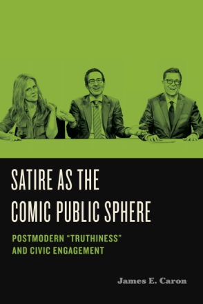 Cover for the book Satire as the Comic Public Sphere